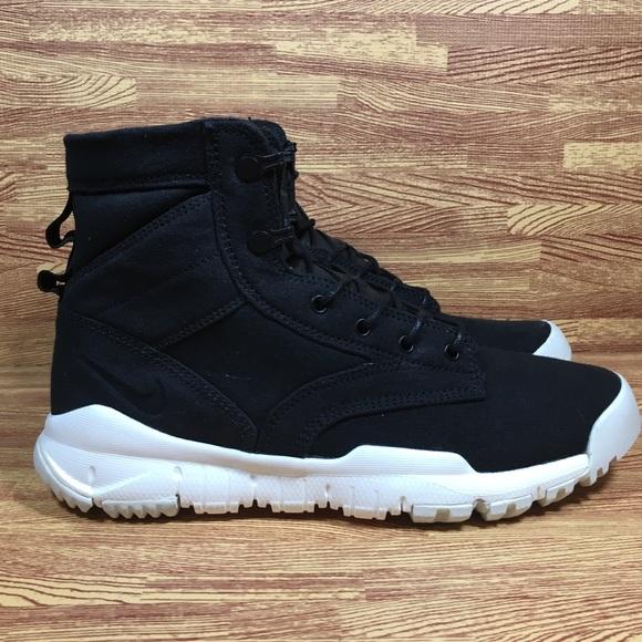"release date eb76c f4b3a Nike SFB 6"" Canvas Black Boots Mens"